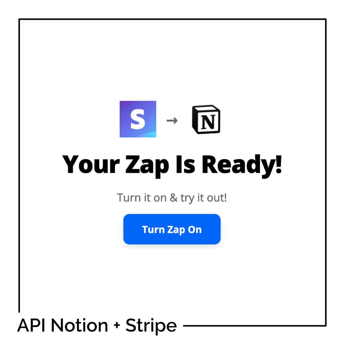 API Notion + Stripe