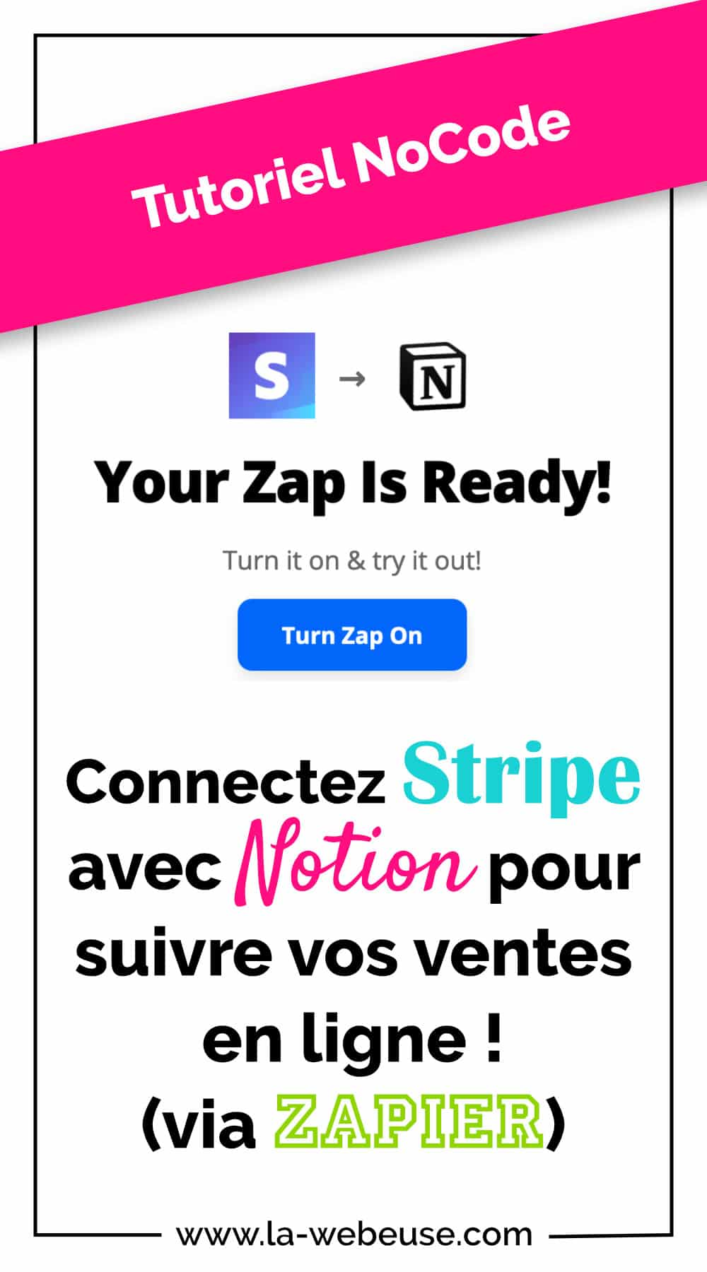 Stripe Notion Zapier