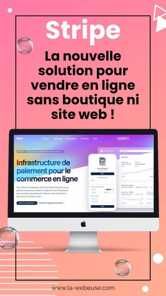 Stripe : nouvelle solution de paiement en ligne