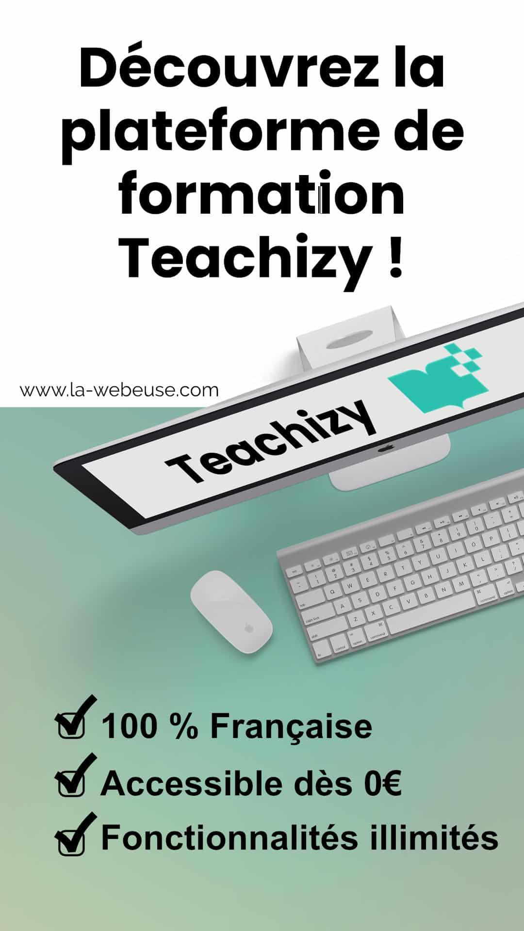 Teachizy: une plateforme formation