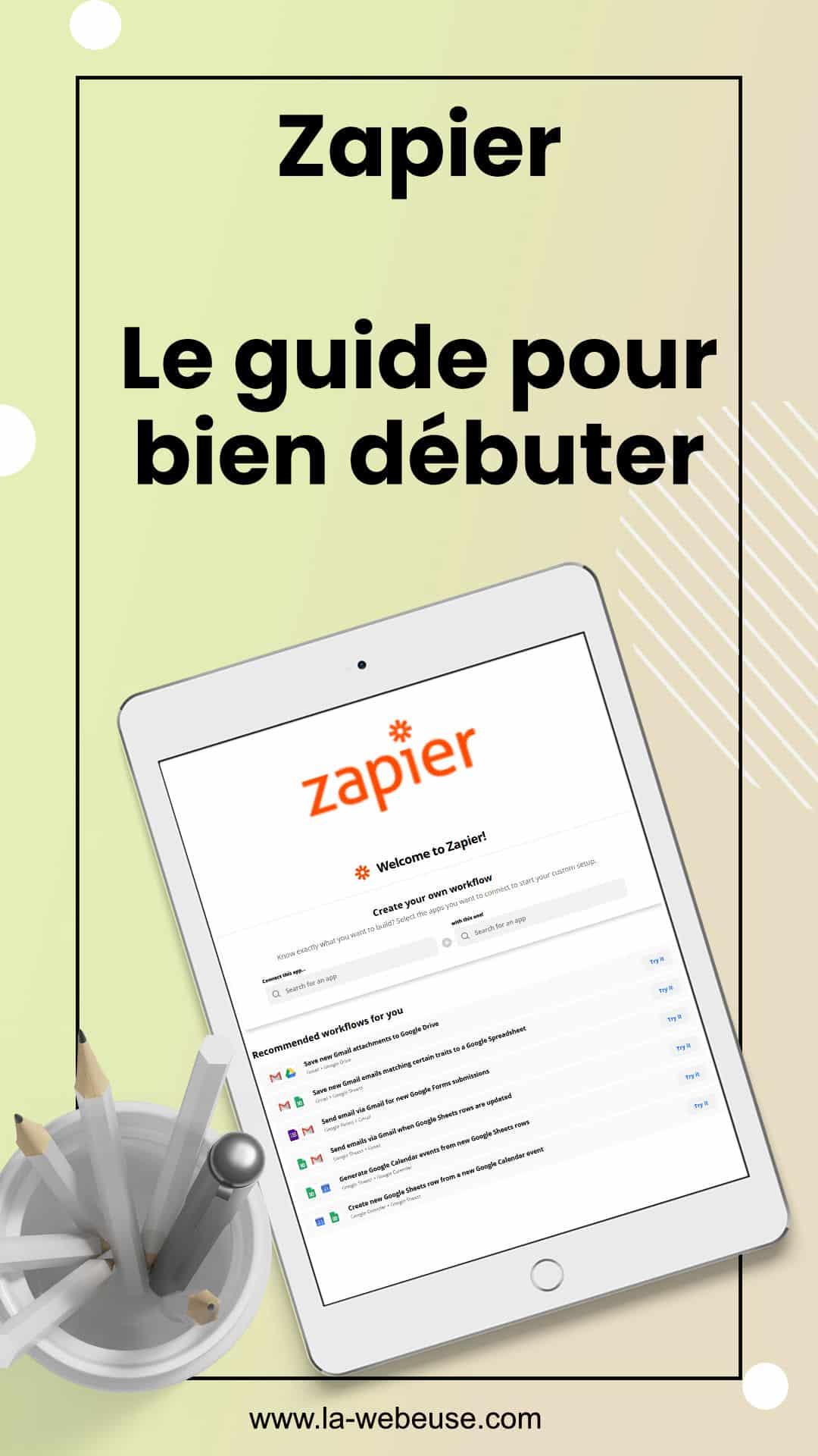zapier guide debutant pin