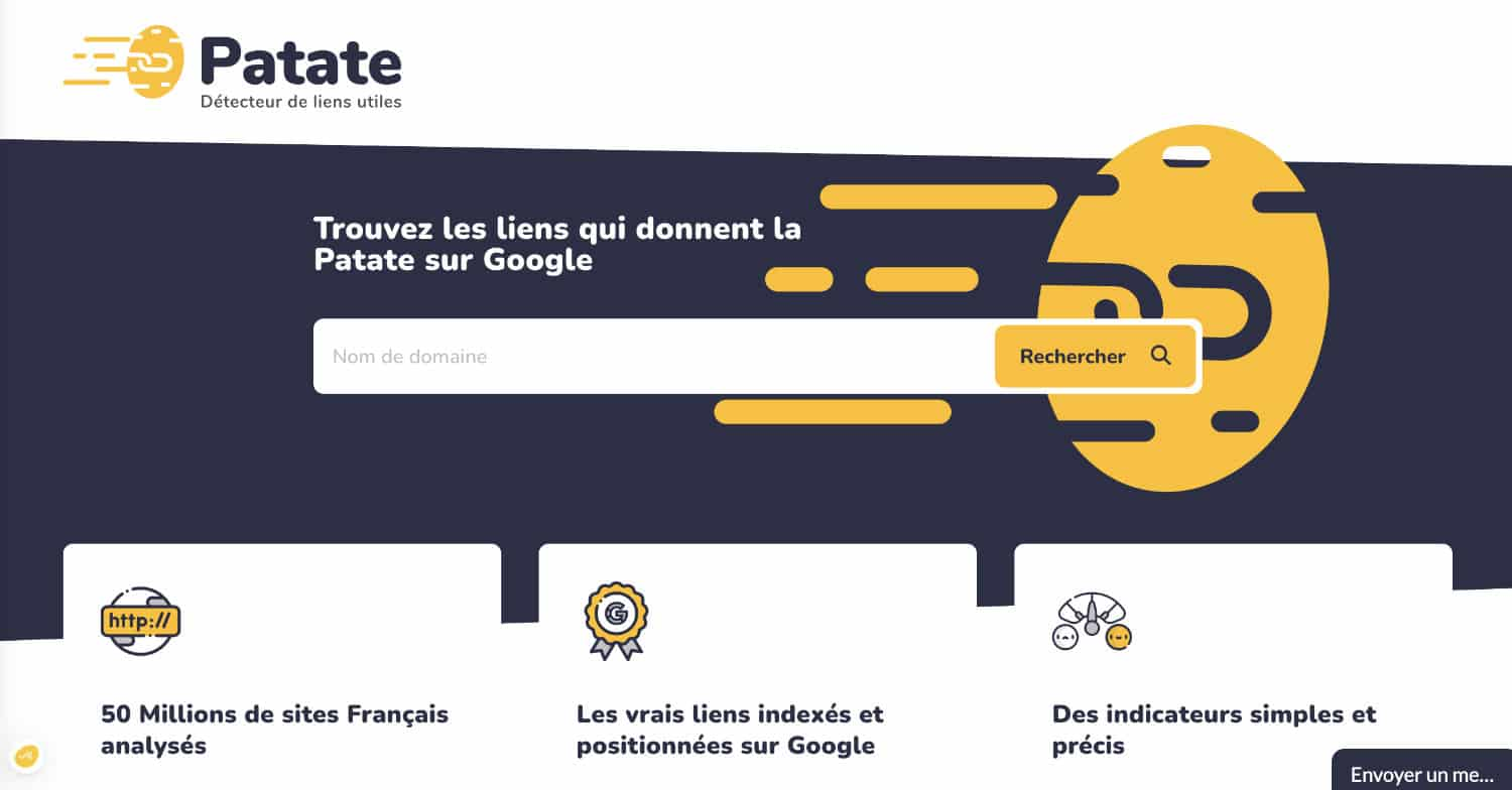 outils SEO Patate