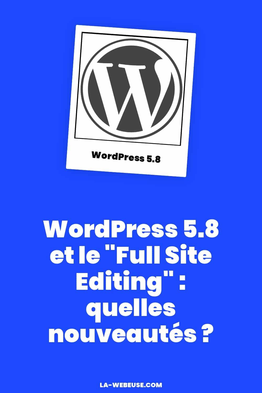WordPress Full Site Editing