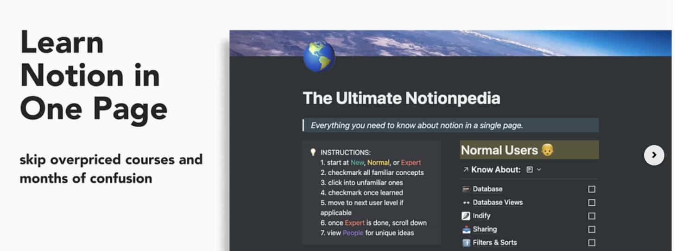 Formation Notionpedia