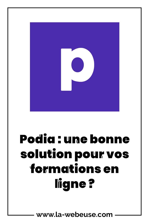 Podia : une plateforme de formation
