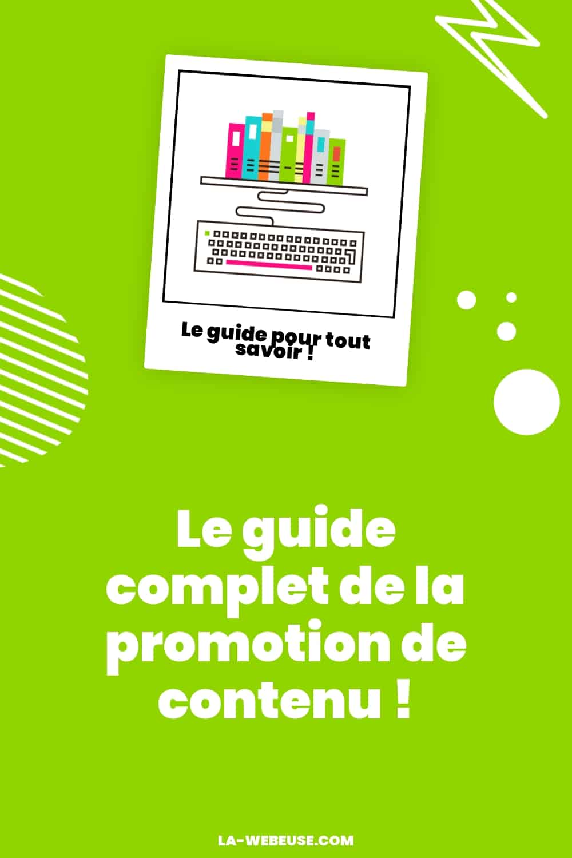 Promotion de contenu : guide